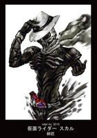 Kamen Rider Skull by novicekid