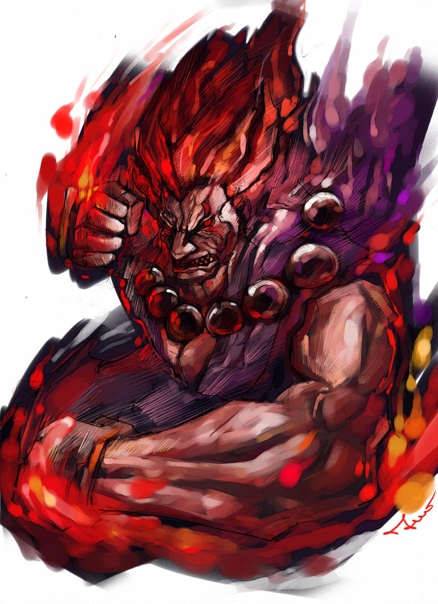 Raging Akuma by novicekid