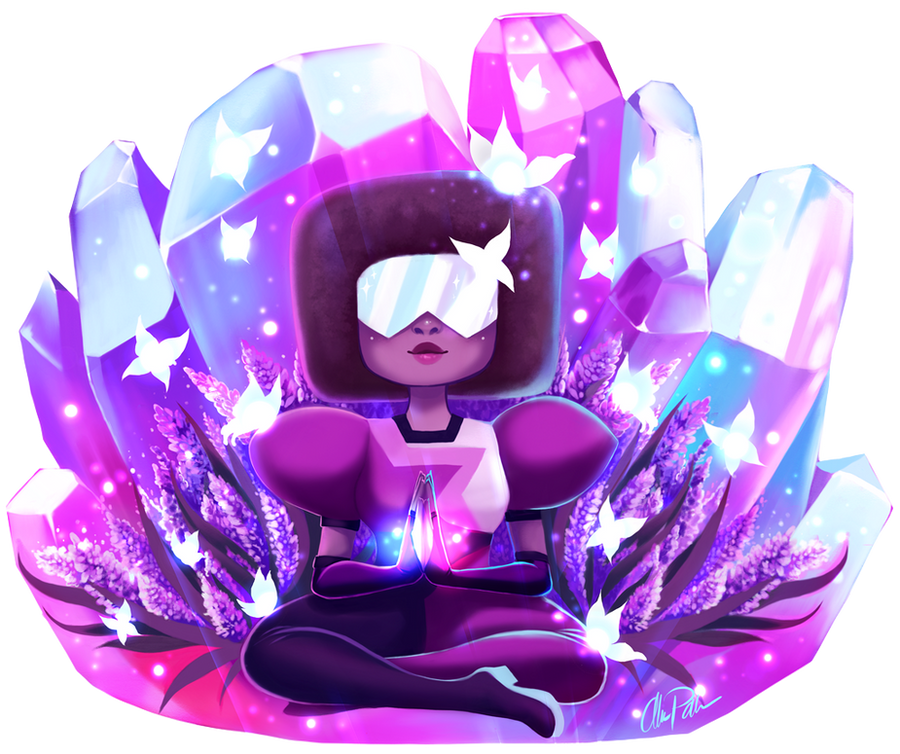 The Finally Crystal Gem! Well for now.. have to work on some other convention stuff now ! Anyways hope you like it    To see how i created this art piece check out my YouTube...