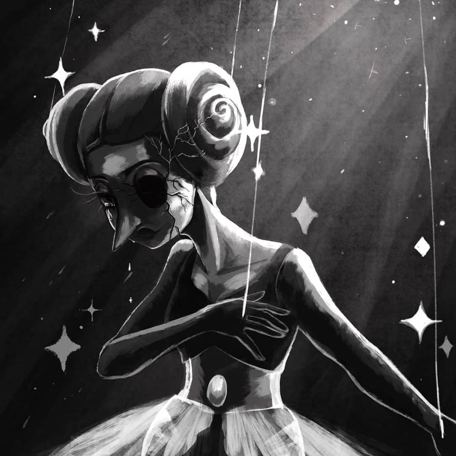 SpeedPaint Video!!     I was so shook by the latest Steven universe episode and the reveal of white diamond ! I I was so much more interested in her broken pearl. White pearl is by far th...