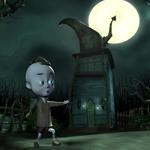 Maison au pied de la lune by michelepaquin