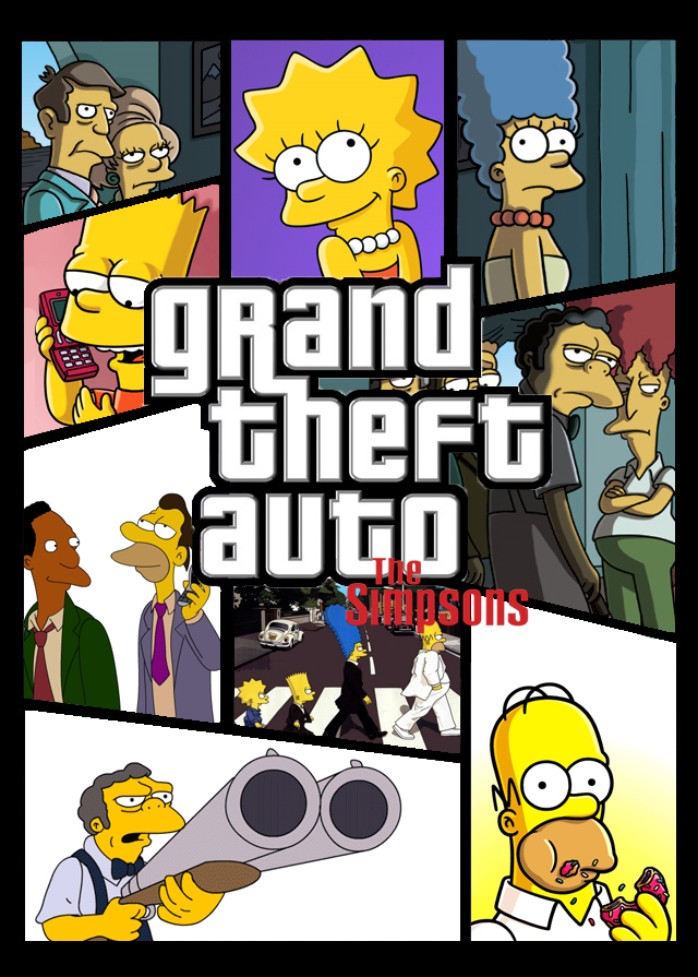 simpsons gta