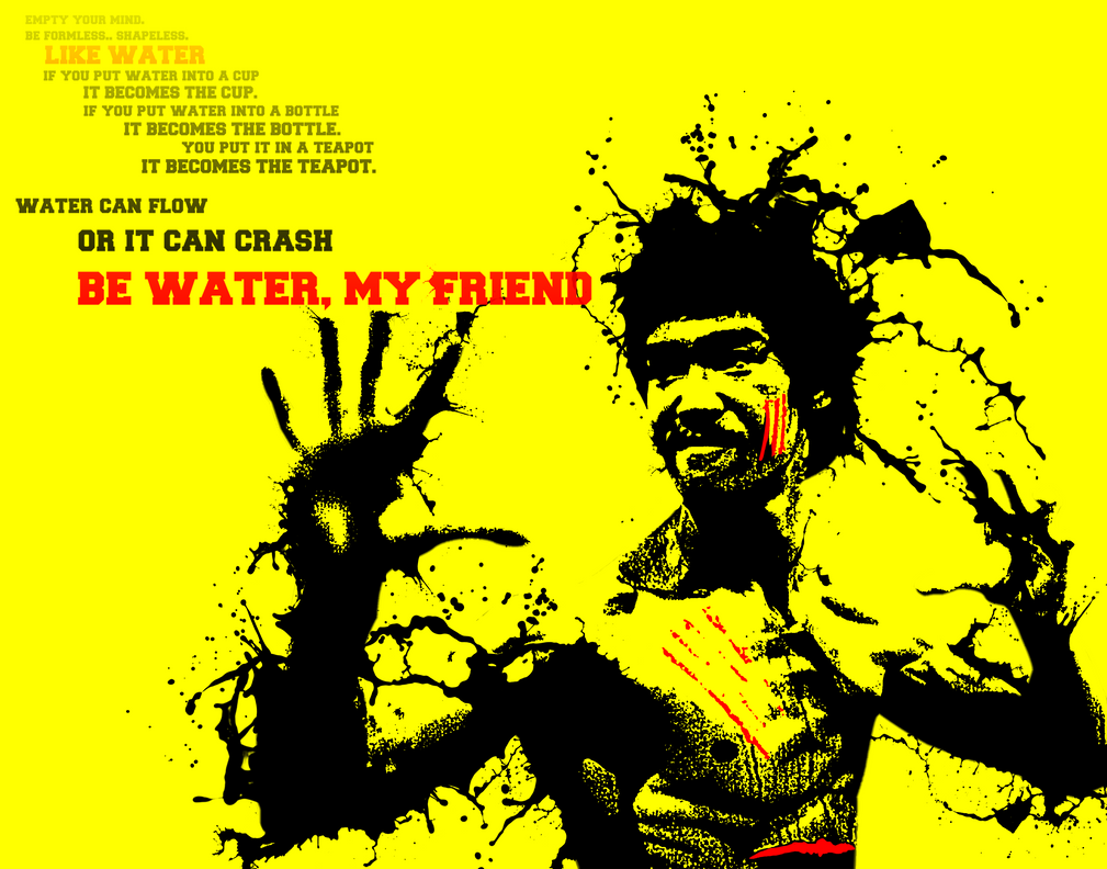 be like water by FelipeS4rg on DeviantArt Felipe's