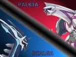 Dialga vs Palkia