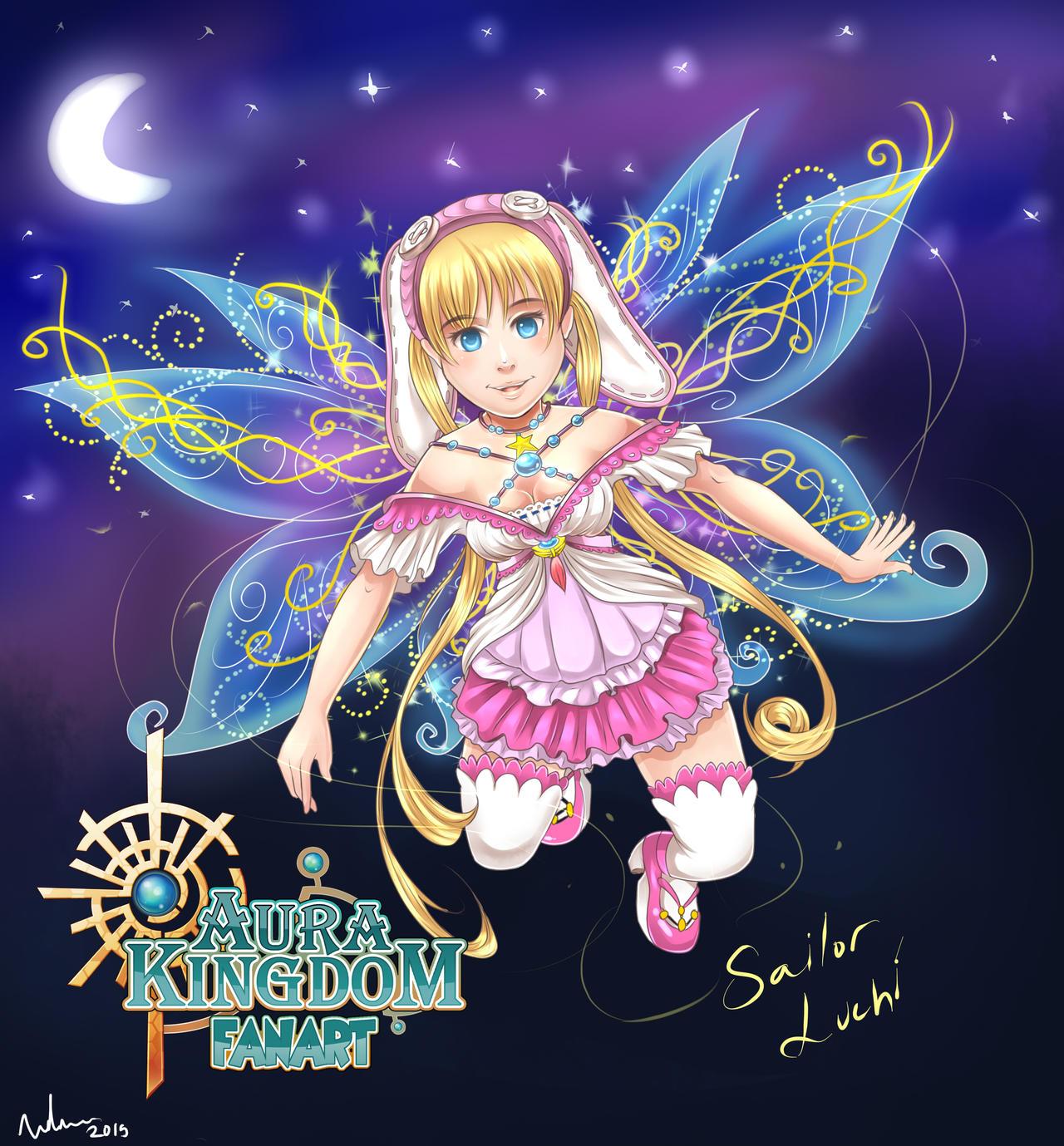Mangareader Kingdom 545: Aura Kingdom Fanart _ Salior Luchi By SoleWorker On DeviantArt