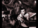 Chewbacca and Captain Kirk