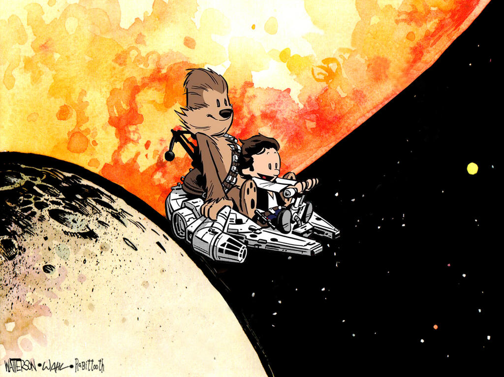 Chris Wahl's Chewie and Han by Rabittooth