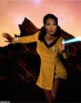 Pam Grier Star Trek TOS
