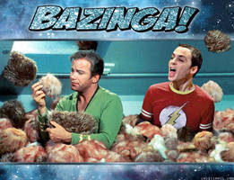 TRIBBLE BAZINGA!
