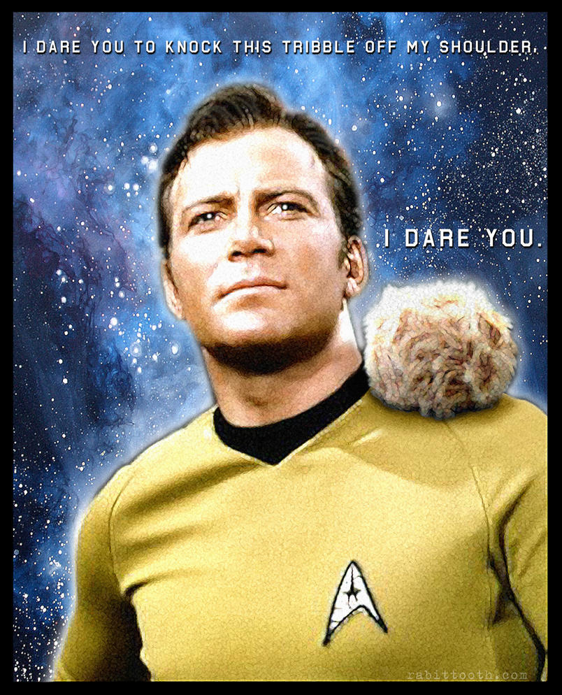 Kirk Dares You ... by Rabittooth