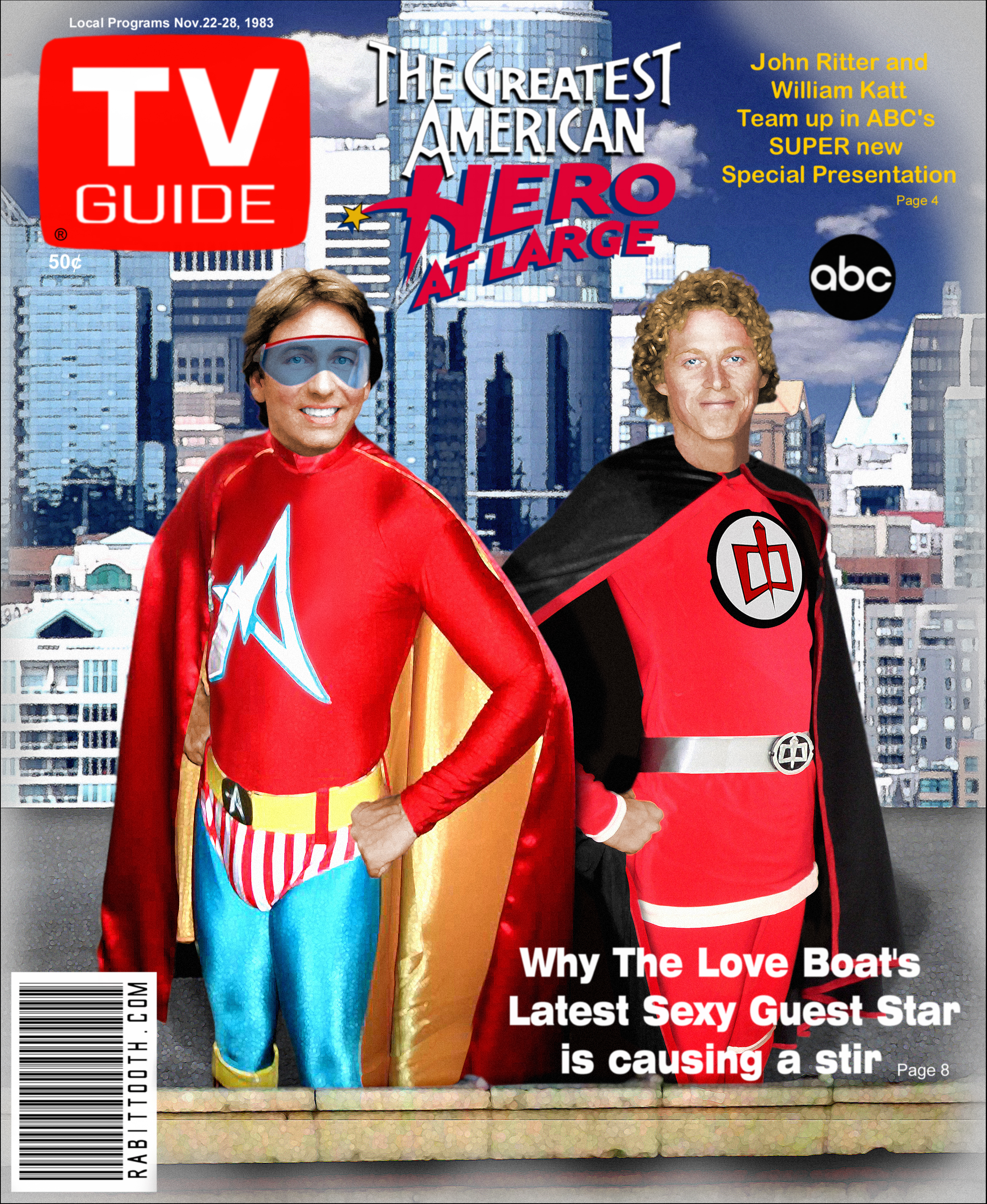 Greatest American Hero at Large TV Guide (CLEAN) by Rabittooth