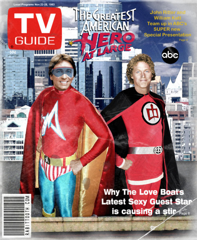 Greatest American Hero at Large TV Guide (DIRTY) by Rabittooth ...  sc 1 st  DeviantArt & Greatest American Hero at Large TV Guide (DIRTY) by Rabittooth on ...