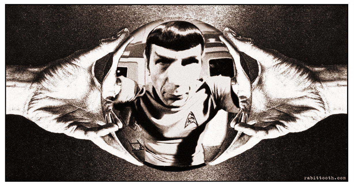 MC Escher Inspired Spock by Rabittooth