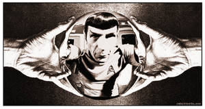 MC Escher Inspired Spock