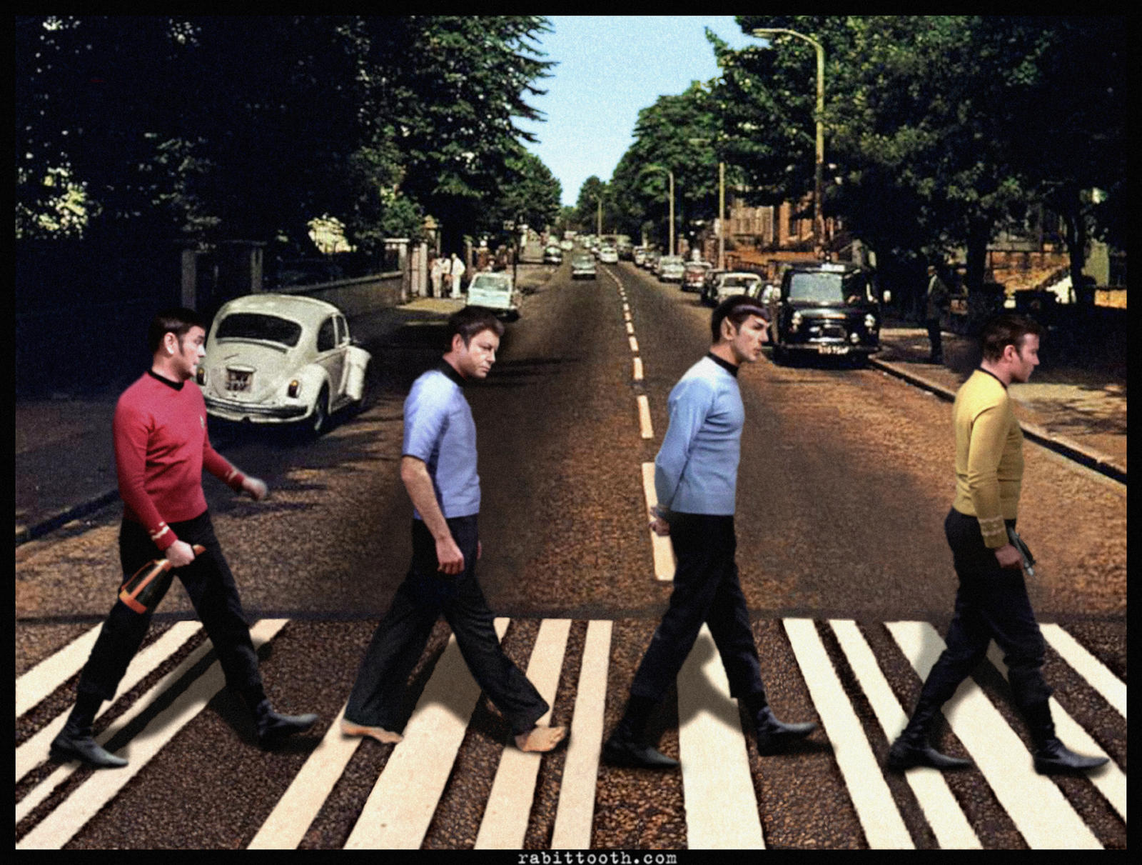 Star Trek Abbey Road