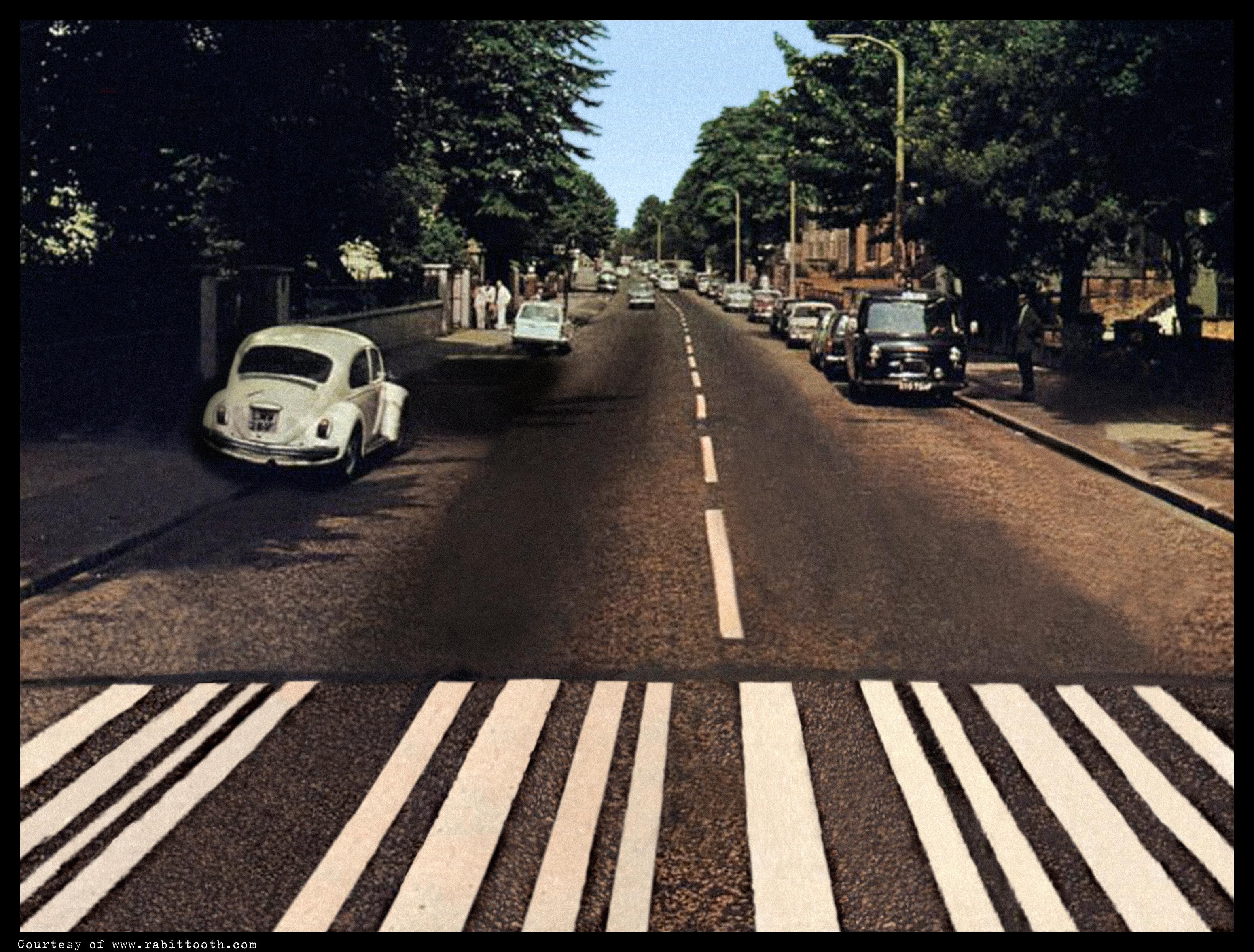 Blank Abbey Road
