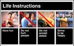 Life Instructions (Star Trek Version)