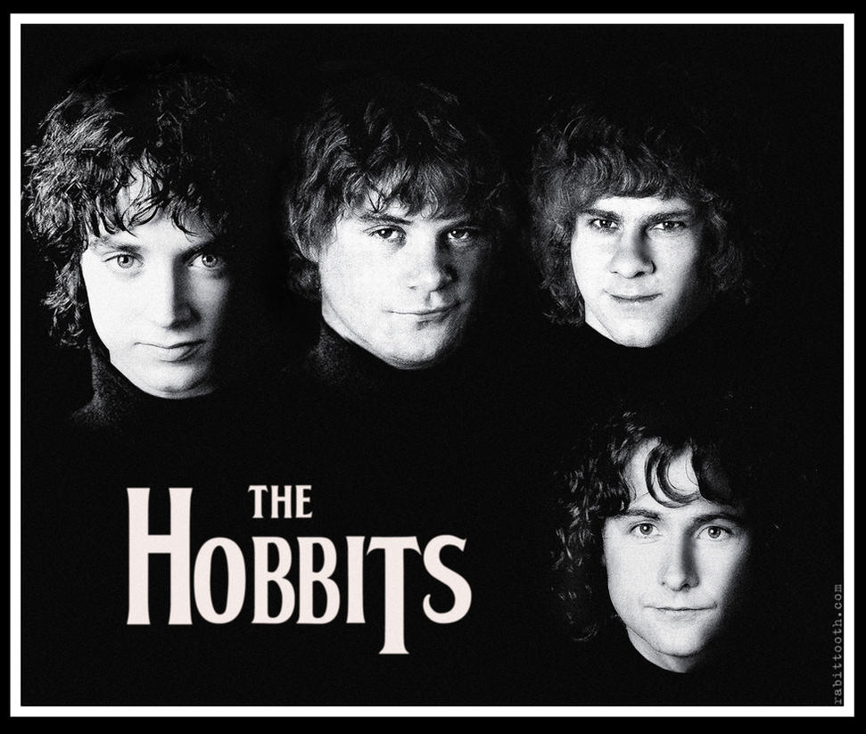 the hobbits by rabittooth on deviantart