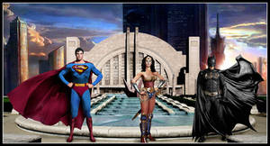 Meanwhile, back at the Hall of Justice ...