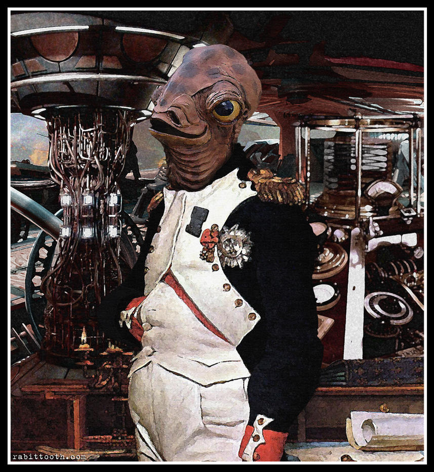 Le Flood en Images ! - Page 18 The_admiral__steampunk_ackbar__by_rabittooth-d5cu6om