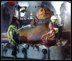 I Dream of Jabba (Star Wars / I Dream of Jeannie)