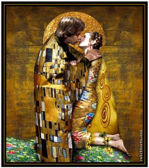 The Kiss (Klimt - Inspired Han / Leia)