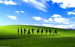 Ministry of Silly Walks Windows XP Background