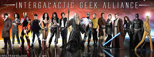 Intergalactic Geek Alliance(Custom Facebook Cover)