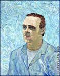 Van Gogh Inspired Hannibal Lecter