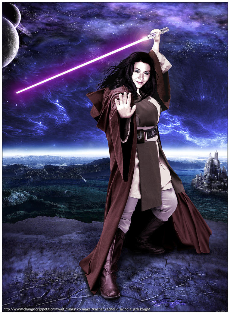Jedi Rayma D'Av ( Rachel D'Avino Tribute ) by Rabittooth