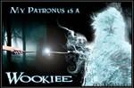 My Patronus is a Wookiee(Potter / Star Wars)w/text