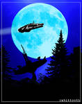 M.F.- The Millennium Falcon (Star Wars / E.T.)