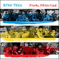 Final Frontier ( The Police / Star Trek TOS ) by Rabittooth