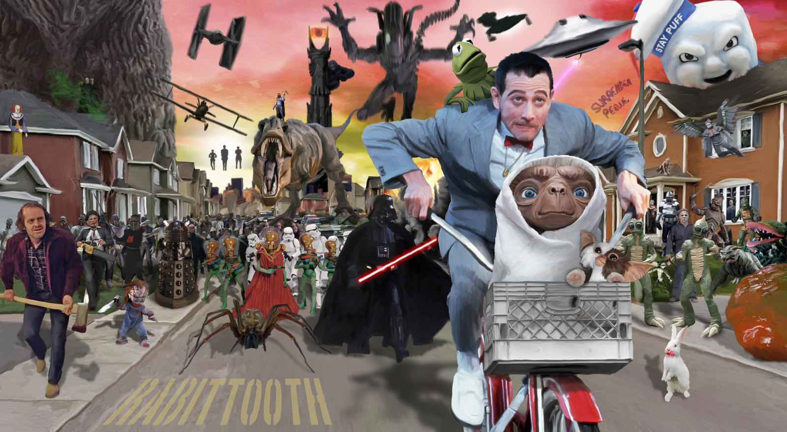 Pee Wee Saves the Day by Rabittooth