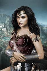 Diana Prince (Wonder Woman/Mona Lisa)