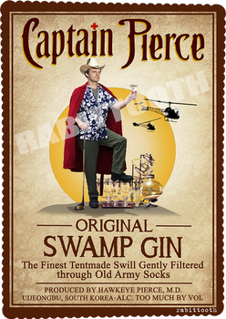 Captain Pierce (Captain Morgan/MASH)