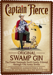 Captain Pierce (Captain Morgan/MASH) by Rabittooth