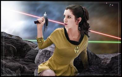 Commodore Organa (Star Wars / Star Trek)