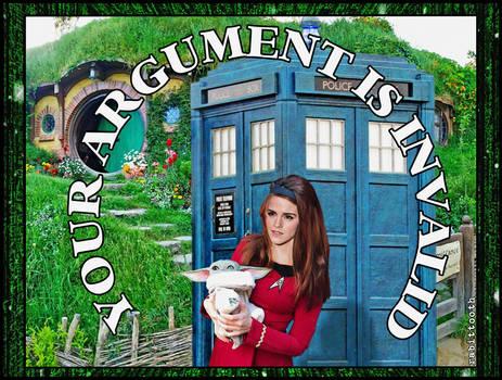 Your Argument is Invalid (Meme)