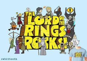 Lord of the Rings Rocks! (Schoolhouse Rock / LOTR)