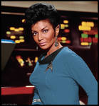 Commander Uhura of Vulcan