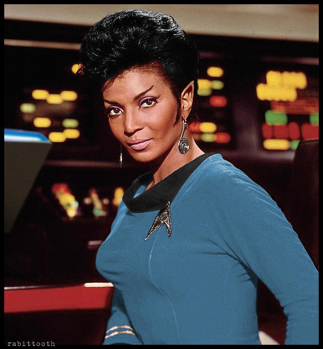 Commander Uhura of Vulcan