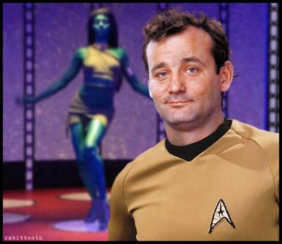 Captain to Transporter Room (Stripes / Star Trek)