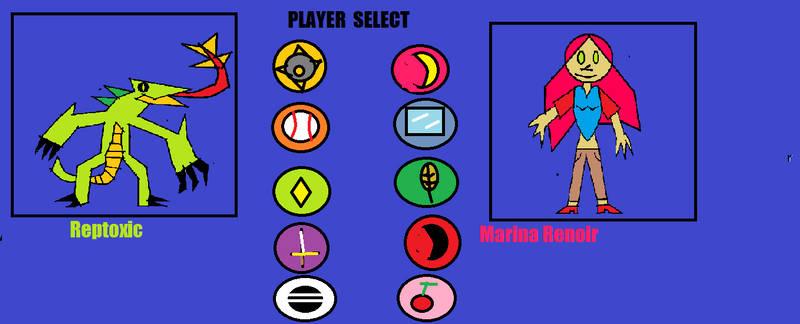 BattleGals 2- Player Select