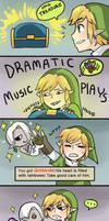 Link does not want D: