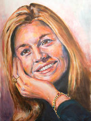 Queen Maxima of the Netherlands by jeroenvv