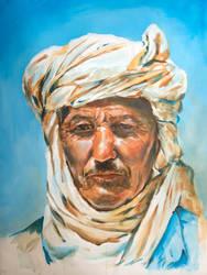 Algerian man by jeroenvv