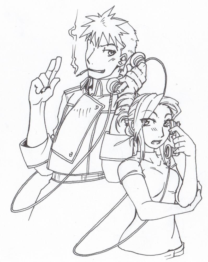 long distance relationship fan art anime