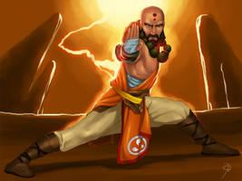Diablo 3: Monk by paneseeker