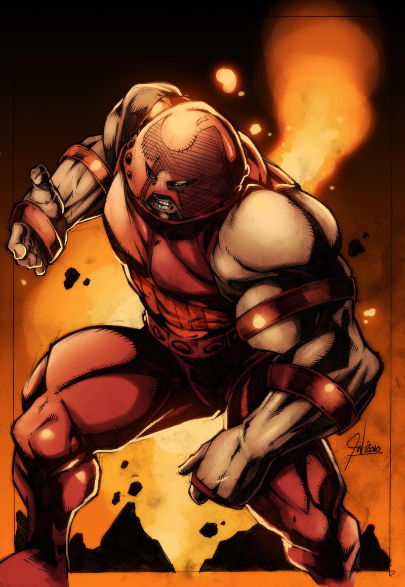 Juggernaut Colored by paneseeker